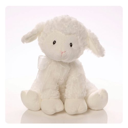 Lena Lamb Keywind Musical Brahms Lullaby 10-Inch Plush