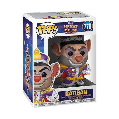 The Great Mouse Ratigan Pop! Vinyl Figure