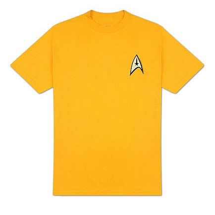 Star Trek Classic Command Uniform T-Shirt