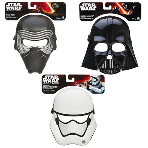 Star Wars: The Force Awakens Masks Wave 2 Set