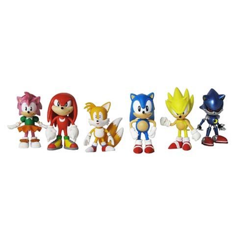 Sonic The Hedgehog Classic 2 Inch Mini Figure 6 Pack Entertainment Earth