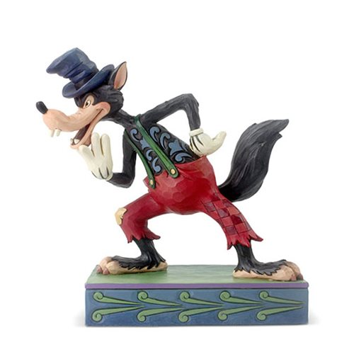 Disney Traditions Silly Symphony Big Bad Wolf I'll Huff and I'll Puff! by Jim Shore Statue