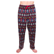 Doctor Who Ugly Christmas Print Pajama Pants