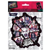 Suicide Squad Character Logo Decal