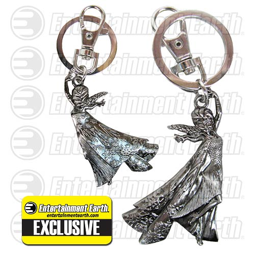 Disney Frozen Elsa Pewter Key Chain Backpack Clip - Entertainment Earth Exclusive