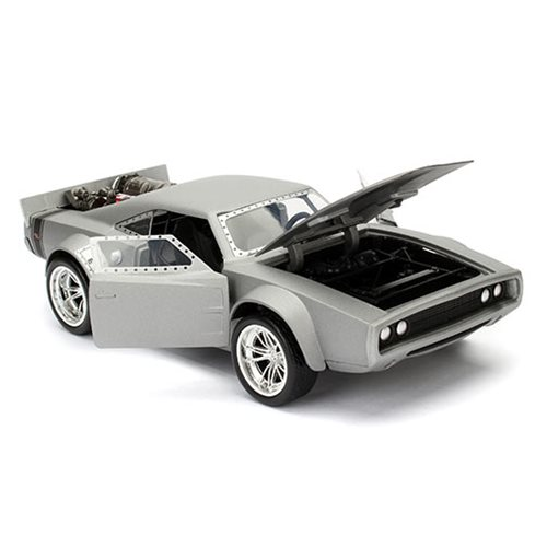 Fast Furious 8 Dom's Ice Charger 1:24 Scale Die-Cast Metal Vehicle