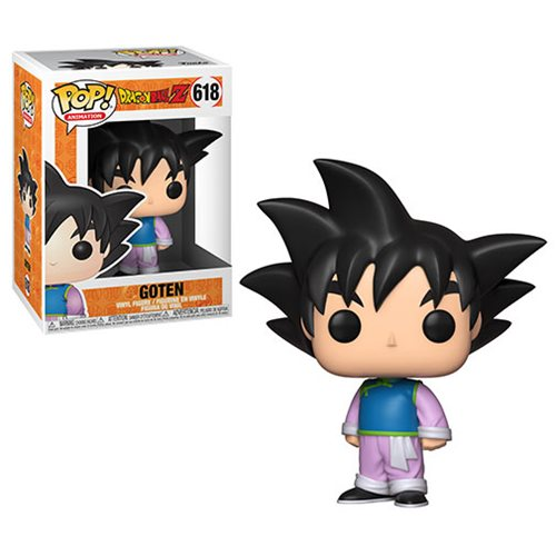 Dragon Ball Z Goten Pop! Vinyl Figure, Not Mint