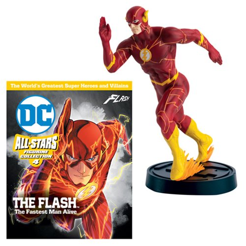 DC All Stars Figure Collection Flash Fastest Man Alive #2 Statue