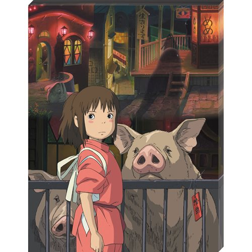 Spirited Away The Other Side of the Tunnel Artboard Canvas Style 366-Piece Jigsaw Puzzle