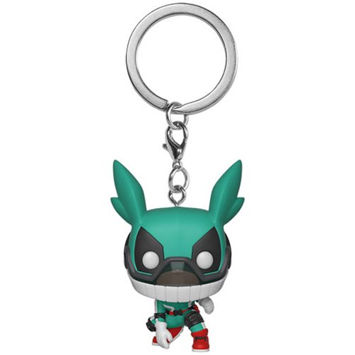 My Hero Academia Deku with Helmet Pocket Pop! Key Chain