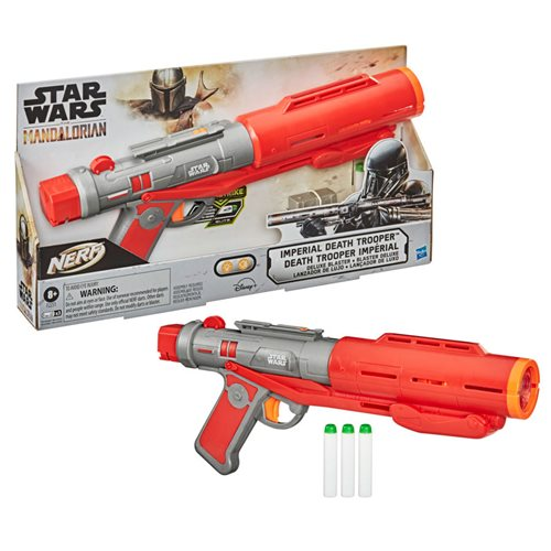 Star Wars Nerf The Mandalorian Imperial Death Trooper Blaster