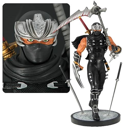 Ninja Gaiden Ryu Hayabusa 1 4 Scale Statue Sculpture Entertainment Earth