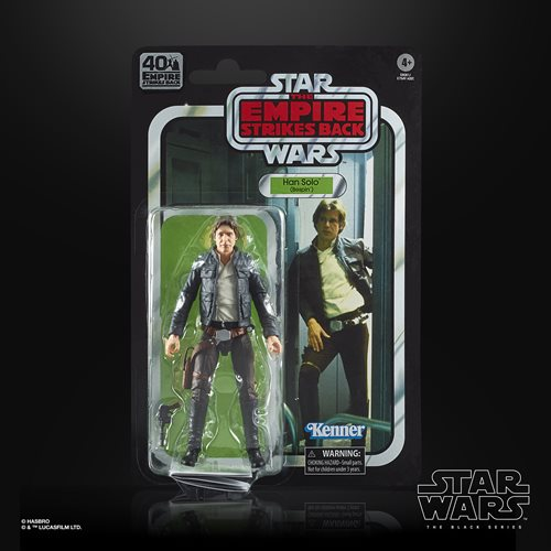 Star Wars The Black Series Empire Strikes Back 40th Anniversary 6-Inch Bespin Han Solo Action Figure