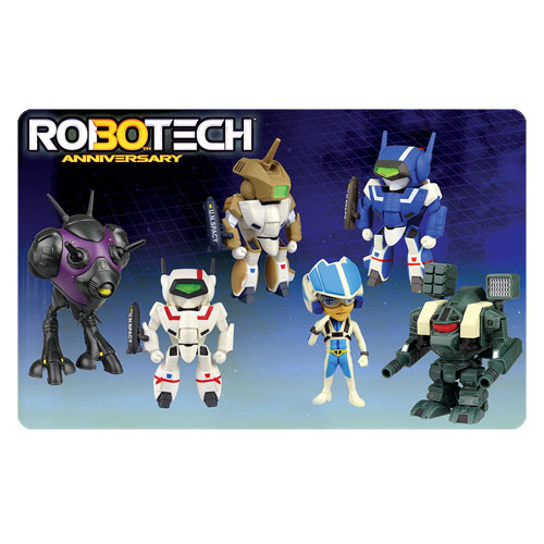 Robotech 30th Anniversary Super Deformed Series 1.5 Blind Box Figure