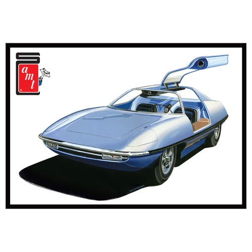 Piranha Spy Car Model Kit