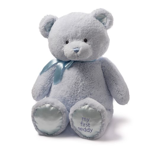 My 1st Teddy Bear Blue 36-Inch Plush