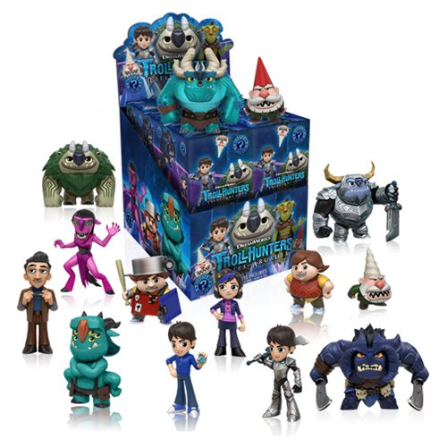Trollhunters Mystery Minis Display Case