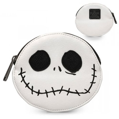 Nightmare Before Christmas Jack Big Face Coin Bag