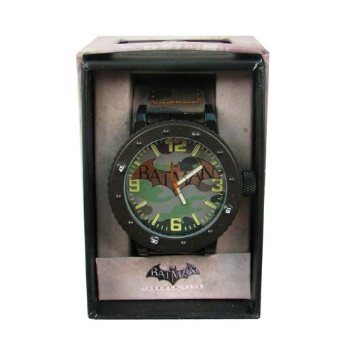 Batman Arkham City Camo Strap Watch