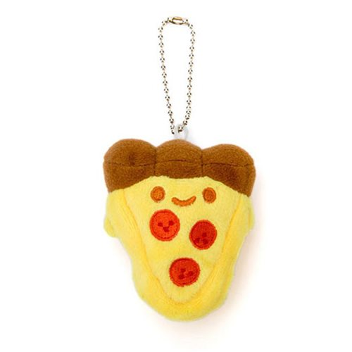 Pizza Plush Key Chain Charm