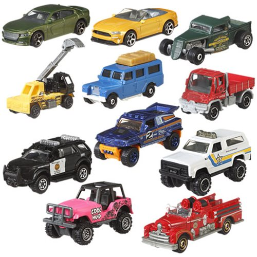 Matchbox Car Collection 2019 Mix 4 Case