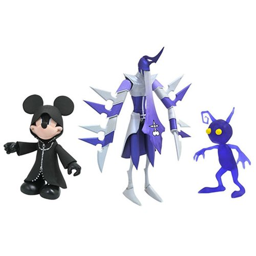 Kingdom Hearts 3 Mickey, Assassin, & Shadow Figure, Not Mint