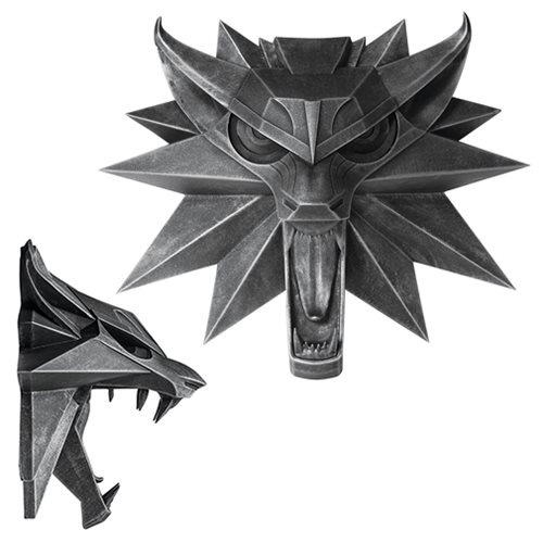 The Witcher 3 Wolf Wall Sculpture Wild Hunt
