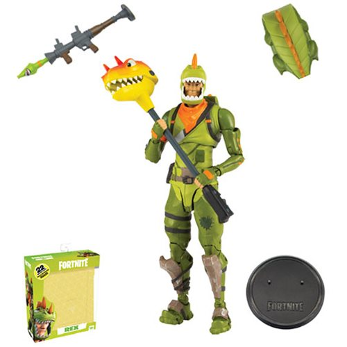Fortnite Series 1 Rex 7-Inch Deluxe Action Figure