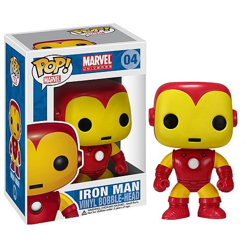 Iron Man Marvel Pop! Vinyl Bobble Head