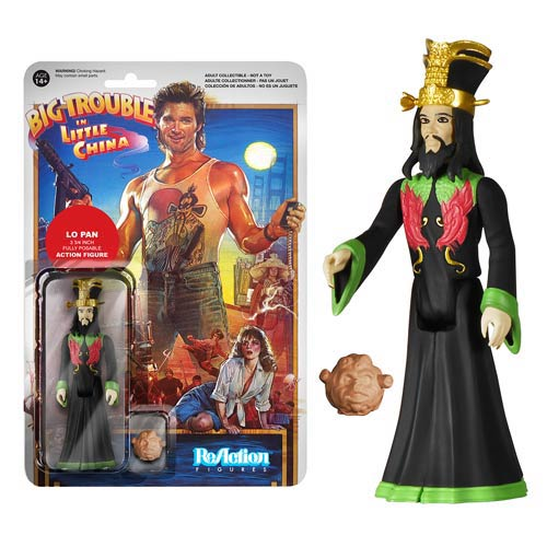 Big Trouble in Little China Lo Pan ReAction 3 3/4-Inch Retro Action Figure