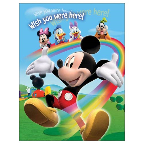 Mickey Mouse and Friends Wish You Were Here Photo Album