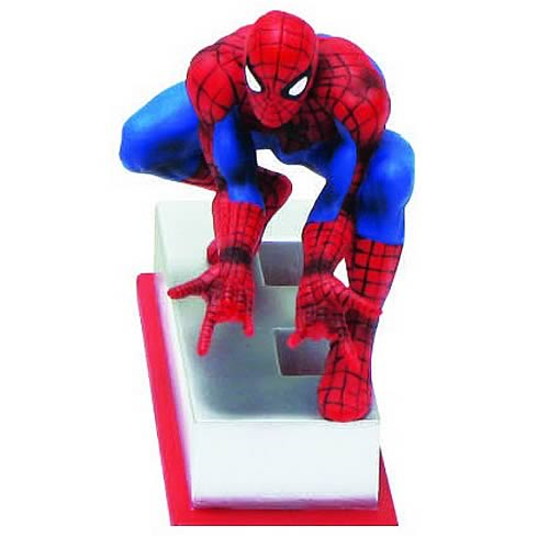 Marvel Edition Spider-Man Letter E Statue