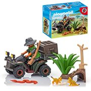 Playmobil 6939 Evil Explorer with Quad