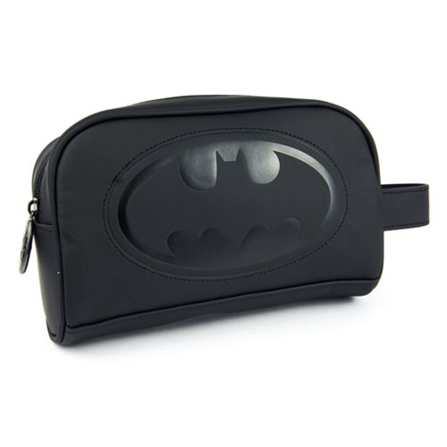 Batman Embossed Toiletry Bathroom Bag