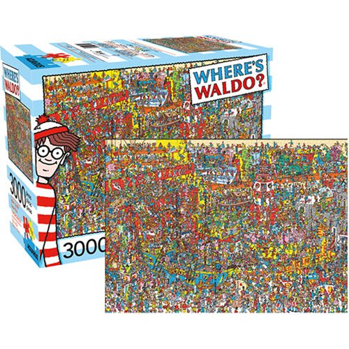 Aquarius Puzzles Subway Map.Where S Waldo 3 000 Piece Puzzle