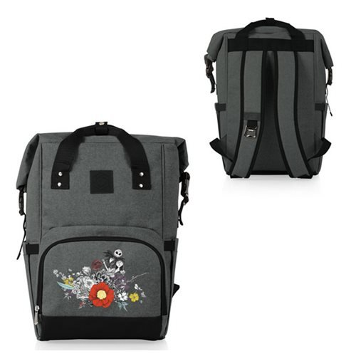 The Nightmare Before Christmas Jack and Sally On-the-Go Roll-Top Cooler Backpack