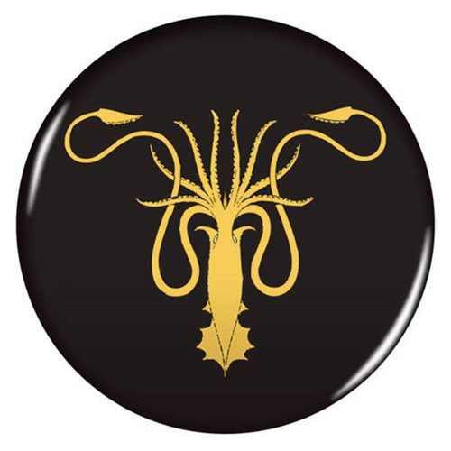 Game of Thrones 2 1/4-Inch House Greyjoy Magnet