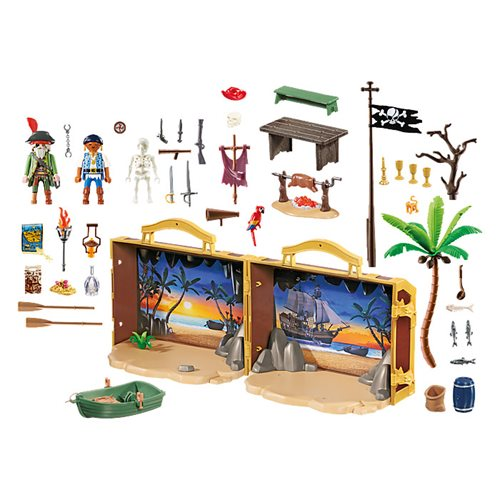 Playmobil 70150 Limited Edition Pirates Take Along Pirate Island Playset