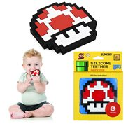 Nintendo 8-Bit Power-Up Mushroom Hand Held Teether