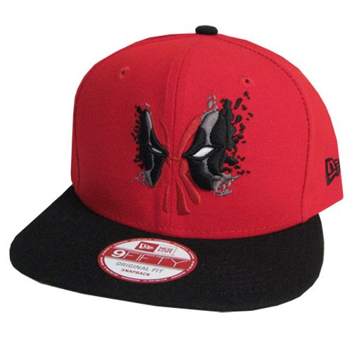 Deadpool Cabesa Punch 950 Snap Back Cap - Entertainment Earth 51c7292c51a