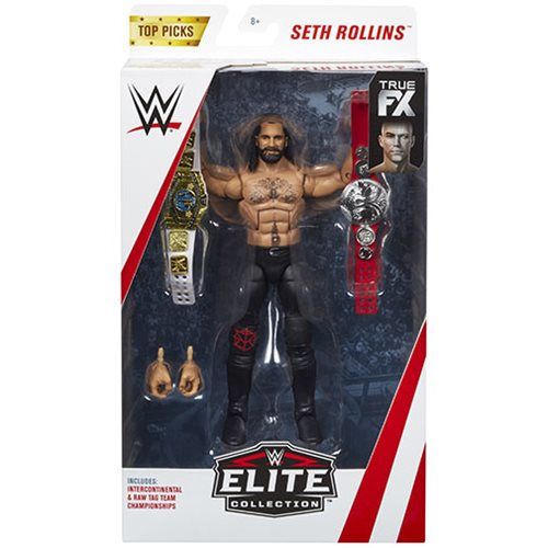 WWE Elite Collection 2019 Top Picks Action Figure Case