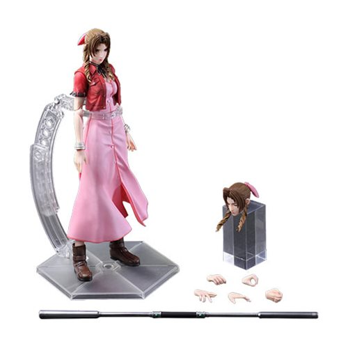 Final Fantasy Crisis Core Aerith Gainsborough Play Arts Kai Action Figure