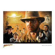 Indiana Jones Ark of the Covenant by Christopher Clark Paper Giclee Art Print - SDCC 2017 Exclusive