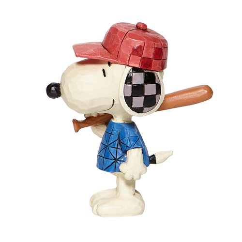 Peanuts Mini Snoopy Baseball by Jim Shore Statue