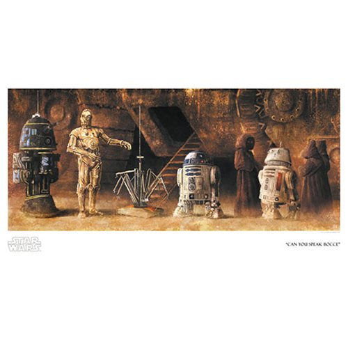 Star Wars Can You Speak Bocce by Akirant Paper Giclee Art Print