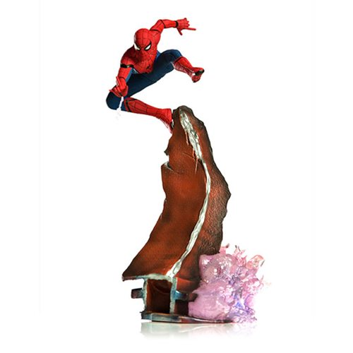 Spider-Man: Homecoming Spider-Man Battle Diorama Series 1:10 Scale Statue