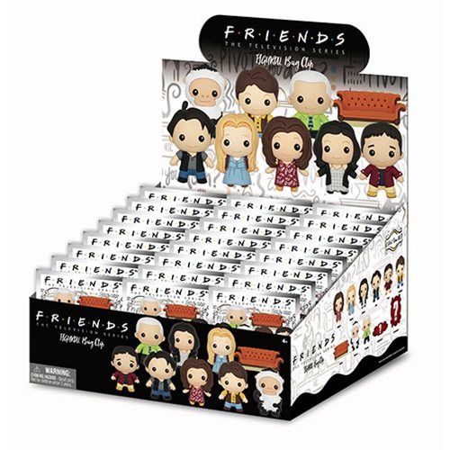 Friends Figural Key Chain Random 6-Pack