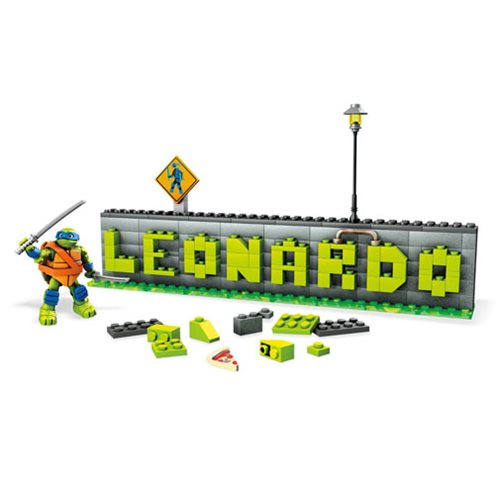 Mega Bloks Teenage Mutant Ninja Turtles Name Plate Builder