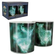 Harry Potter Patronus Drinking Glasses 2-Pack Set