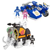 Mighty Morphin Power Rangers Imaginext Zord Pack Case